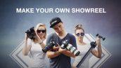دانلود پروژه افترافکت با موزیک اسلایدشو و تیتراژ Make Your Own Showreel