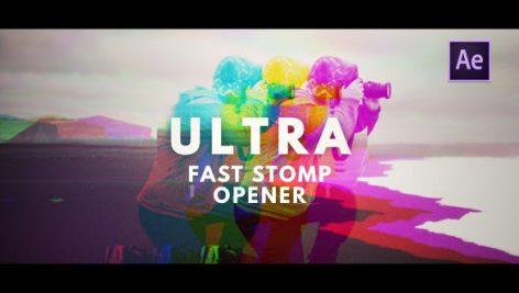 دانلود پروژه افترافکت با موزیک وله و تیتراژ فیلم Ultra Fast Stomp Opener