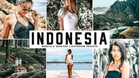 دانلود پریست لایت روم و Camera Raw دسکتاپ و موبایل : Indonesia Mobile Desktop Lightroom Presets