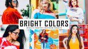 دانلود پریست لایت روم و Camera Raw و اکشن: Bright Colors Lightroom Presets