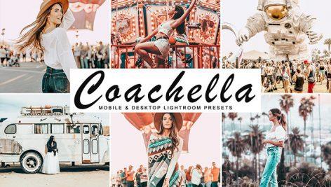 دانلود پریست لایت روم و Camera Raw و اکشن: Coachella Lightroom Presets Pack