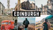 دانلود پریست لایت روم و Camera Raw و اکشن: Edinburgh Pro Lightroom Presets