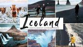 دانلود پریست لایت روم و Camera Raw و اکشن: Iceland Mobile Desktop Lightroom Presets