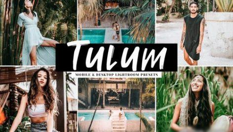 دانلود پریست لایت روم و Camera Raw و اکشن: Tulum Mobile Desktop Lightroom Presets