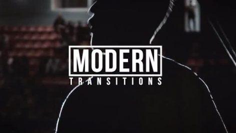 دانلود پکیج ترنزیشن حرفه ای پریمیر motionarray Modern Transitions Premiere Pro