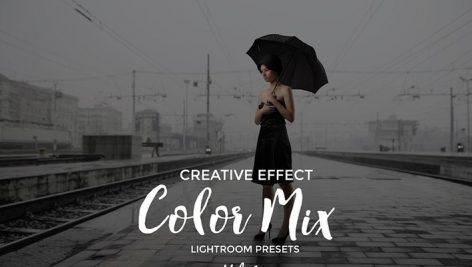 دانلود 20 پریست آماده رنگی لایت روم : Color Mix Lightroom Presets Vol. 1
