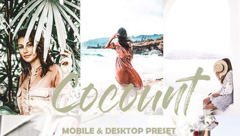 دانلود 5 پریست لایت روم دسکتاپ و موبایل : Cocount Mobile and Desktop Lightroom Presets