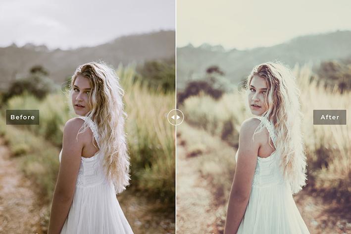 دانلود پریست لایت روم و Camera Raw و اکشن: Marshmallow Lightroom Presets Pack