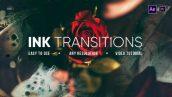 دانلود مجموعه 10 ترنزیشن افترافکت پاشیدن رنگ Ink Transitions