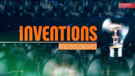 دانلود پروژه آماده افترافکت با موزیک : استارت آپ Idea Inventions and discoveries