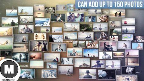 دانلود پروژه آماده افترافکت با موزیک اسلایدشو 3D Photos Slideshow