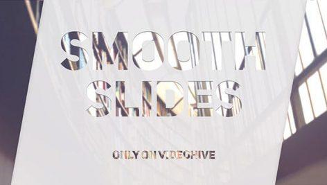 دانلود پروژه آماده افترافکت با موزیک اسلایدشو Smooth Slides