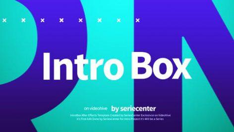 دانلود پروژه آماده افترافکت با موزیک رزولوشن 4K وله و تیتراژ IntroBox Intro