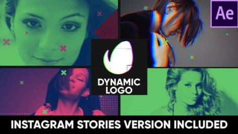 دانلود پروژه آماده افترافکت با موزیک لوگو Dynamic Logo