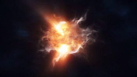 دانلود پروژه آماده افترافکت با موزیک لوگو Storm Particles Logo Intro