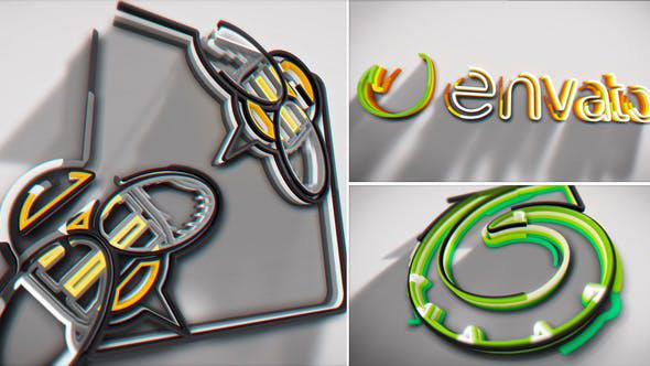 دانلود پروژه آماده افترافکت بسیار حرفه ای با موضوع وله لوگوبنام videohive Colorful Stroke Logo Intro