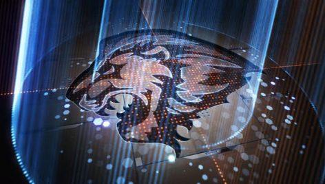 دانلود پروژه آماده افترافکت با موزیک : لوگو نورانی Light Rays Logo