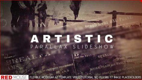 دانلود پروژه آماده افترافکت با موزیک : اسلایدشو Harmony Slideshow