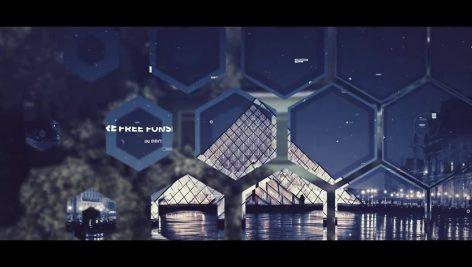 دانلود پروژه آماده پریمیر با موزیک اسلایدشو Futuristic Parallax Slideshow