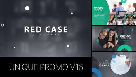 دانلود پروژه افترافکت با موزیک معرفی شرکت و محصولات Unique Promo v16 Corporate Presentation