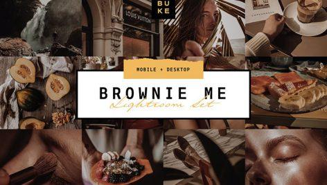 دانلود پریست رنگی لایت روم دسکتاپ و موبایل : Brownie Me Luxury Lightroom Preset