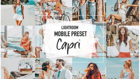 دانلود پریست رنگی لایت روم موبایل : CAPRI 4 Lightroom Mobile presets