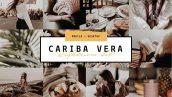 دانلود پریست رنگی لایت روم دسکتاپ و موبایل : Cariba Vera Lightroom Preset Pack
