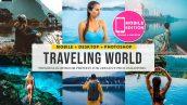 دانلود پریست رنگی لایت روم دسکتاپ و موبایل : Traveling lightroom presets