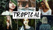 دانلود پریست لایتروم و Camera Raw و اکشن: Tropical Pro Lightroom Presets