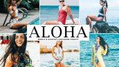 دانلود پریست لایت روم و Camera Raw و اکشن: Aloha Mobile Desktop Lightroom Presets