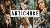 دانلود پریست لایت روم و Camera Raw و اکشن: Artichoke Mobile Desktop Lightroom Presets