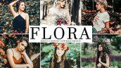 دانلود پریست لایت روم و Camera Raw و اکشن: Flora Lightroom Presets Pack