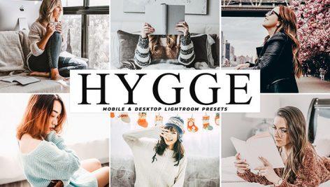 دانلود پریست لایت روم و Camera Raw و اکشن: Hygge Mobile Desktop Lightroom Presets