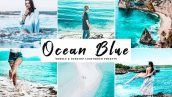 دانلود پریست لایت روم و Camera Raw و اکشن: Ocean Blue Lightroom Presets Pack