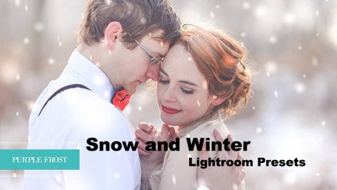 دانلود 32 پریست آماده رنگی زمستانی لایتروم : Snow and Winter Lightroom Presets