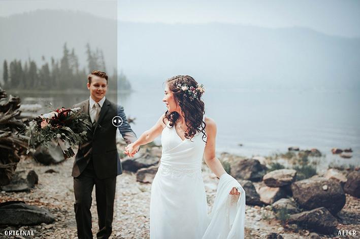 دانلود 50 پریست آماده رنگی لایت روم : عروسی Pro Wedding Presets Collection