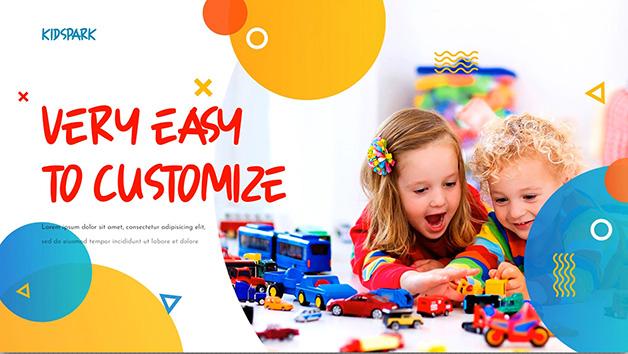 دانلود پروژه آماده افترافکت با موزیک : اسلایدشو کودک Kids Park Promotion