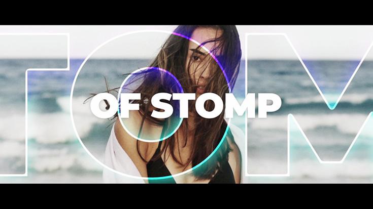 دانلود پروژه آماده افترافکت با موزیک  اسلایدشو Dynamic Stomp Opener