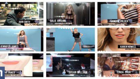 دانلود پروژه آماده افترافکت با موزیک : وله و تیتراژ Fashion Show Movie Intro