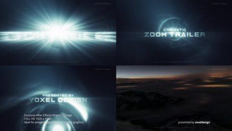 دانلود پروژه آماده افترافکت با موزیک : وله و تیتراژ ZOOM Cinematic Trailer