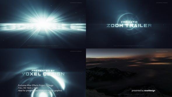 دانلود پروژه آماده افترافکت با موزیک وله و تیتراژ ZOOM Cinematic Trailer