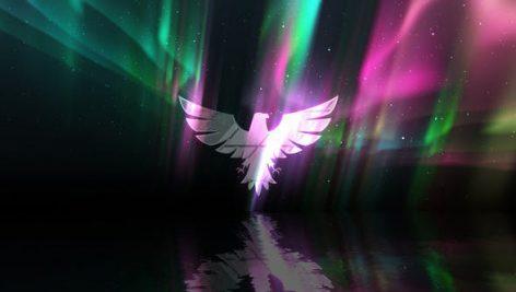 دانلود پروژه آماده افترافکت لوگو رزولوشن 4K با موزیک Aurora Lights Logo