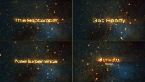دانلود پروژه آماده تایتل افترافکت با موزیک Cinematic Teaser Promo Titles