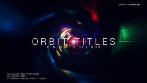 دانلود پروژه آماده تایتل افترافکت فوق حرفه ای Orbit Cinematic Titles