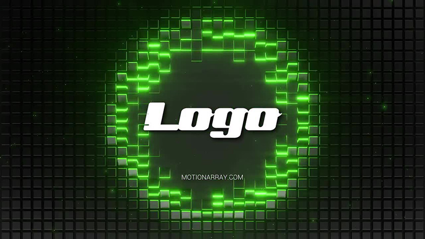 دانلود پروژه آماده پریمیر با موزیک  لوگو و آرم Unfold Logo Reveal
