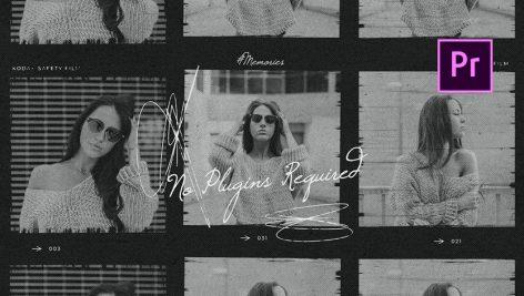 دانلود پروژه آماده پریمیر با موزیک پروژه : اسلایدشو Laizy Vintage Slideshow
