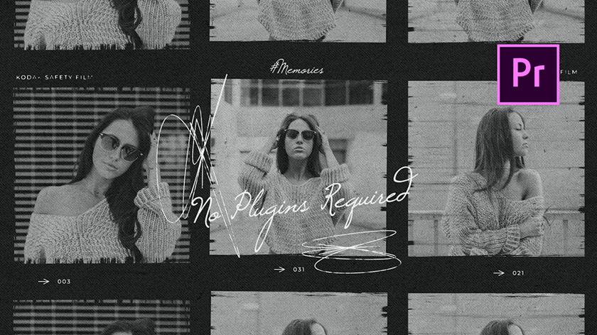 دانلود پروژه آماده پریمیر با موزیک پروژه  اسلایدشو Laizy Vintage Slideshow