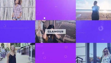 دانلود پروژه آماده پریمیر تیتراژ با موزیک فشن Fashion Zone