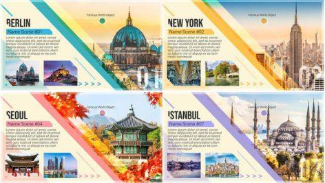 دانلود پروژه افترافکت با موزیک آژانس مسافرتی و تور Travel Guide Promo