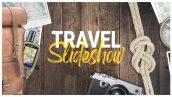 دانلود پروژه افترافکت با موزیک آژانس مسافرتی و تور Travel Slideshow